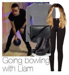 """""""REQUESTED: Going bowling with Liam"""" by style-with-one-direction ❤ liked on Polyvore featuring Payne, Glamorous, American Apparel, Mansur Gavriel, OneDirection, LiamPayne, 1d and liam payne one direction 1d"""