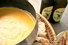 Fabulous Beer Cheese Fondue Recipe Beer Cheese Fondue is the perfect party food. It's an easy recipe loaded with melted cheese and perfect for dipping breads, veggies and more. Goat Cheese Fondue Recipe, Cheese Fondue Dippers, Best Cheese Fondue, Cheddar Cheese Soup, Beer Cheese Soups, Fondue Recipes, Cheese Recipes, Copycat Recipes, Crockpot Fondue