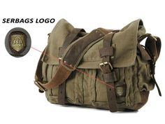 large military style messenger bag green haversack