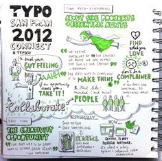 Eva-Lotta Lamm's visual notes