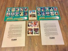 2 x 1992 Fleer Baseball Rookie Sensations Limited Edition Promotional&Cards | Sports Mem, Cards & Fan Shop, Sports Trading Cards, Baseball Cards | eBay!
