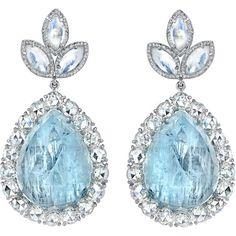 Jewelry Diamond : Diamond and Aquamarine