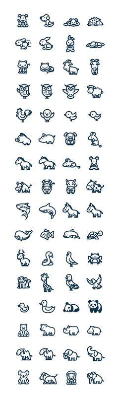 Animales Vectorial en Behance
