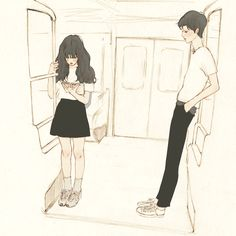 텅빈  그 곳에  거짓말 처럼 네가 서있었어넌 내가 다가오는 것도 모른체꾸벅꾸벅