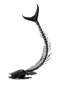 King Fish Skeleton
