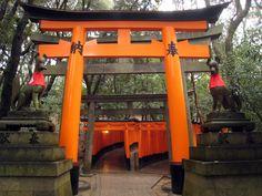 Fushimi Inari Shrine in Kyoto - Japan