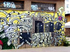 street art europe berlin allemagne aerosol  RAW Tempel (site) CRIN
