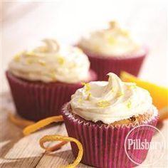 Cranberry Orange Cupcakes from Pillsbury® Baking