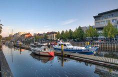 Sommermorgen am Oldenburger Hafen