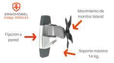 Conoce la base para monitor LCD ergonómico de alto rendimiento.