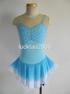 Gorgeous Figure Skating Dress Ice Skating Dress #8093 size 12   Sporting Goods, Winter Sports, Ice Skating   eBay!