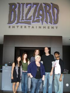 The Guild cast at Blizzard