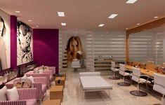 Fotos de Salão de Beleza Decorados 25 Beauty Bar Salon, Nail Saloon, Bella Beauty, Hair Salon Interior, Nail Room, Restaurants, Soho House, Salon Design, Hair Studio