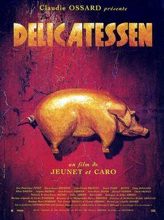 Delicatessen es una película francesa cuyos ingredientes principales son la comedia y el humor negro. Ambientada en una época postapocalíptica de la Francia del siglo XX. #delicatessen #francia #película