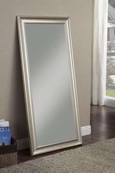 Rectangle Full Length Leaning Mirror