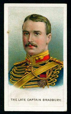 Cigarette Card - Captain Bradbury VC Royal Horse Artillery