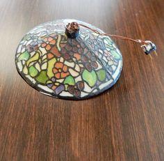 Barbara and Lew Kummerow, IGMA Artisans - hanging Tiffany lamp