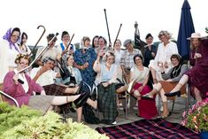 Grannies know how to have a great #hen party
