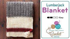Crochet Lumberjack Blanket Very Canadian is the Crochet Lumberjack Blanket that resembles men's work socks. For me personally, when I