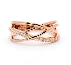 Items similar to Multi Band Diamond Wedding Band, Anniversary Ring, Rose Gold, Yellow Gold, White Gold on Etsy Ankle Jewelry, Gold Rings Jewelry, 18k Gold Bracelet, Gold Mangalsutra Designs, Gold Ring Designs, Fancy Jewellery, Or Rose, Rose Gold, Diamond Wedding Bands