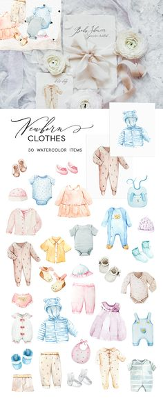 Newborn Creator & Baby Shower ~ Illustrations ~ Creative Market