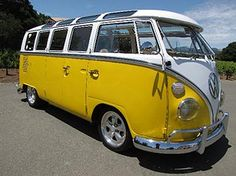 Take a no-fixed-time-frame-minimal-destination-requirement road trip in a twenty-one window Bus.