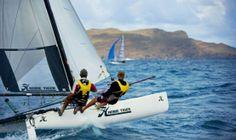 Hobie Tiger sailing in St Barth's