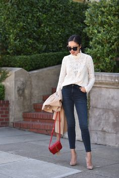 Wearing Lately – Page 8 Casual Summer Outfits For Women, Classy Outfits, Stylish Outfits, Fashion Outfits, Work Outfits, Fashion Clothes, Countryside Fashion, French Countryside, Mode Chic