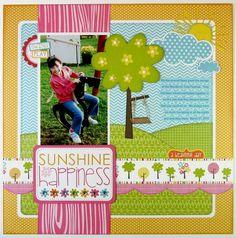 Bella Blvd Sunshine & Happiness Layout by Mendi Yoshikawa