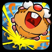 """BOOM BOOM HAMSTER GOLF  Reviews:  5/5 - The iPhone App Review – """"The app is delightful, hila"""