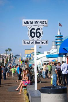 terminus Rt 66 Santa Monica, California.....but I'm pretty sure we hit it somewhere besides Santa Monica.