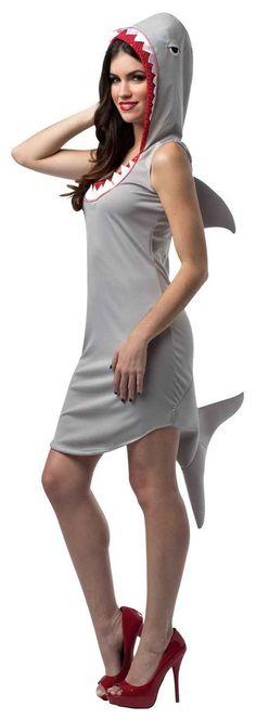 Shark Dress Adult Costume