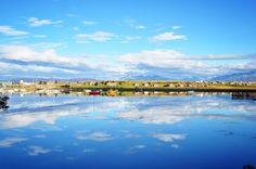 Reflets dans l'eau, Ushuaia