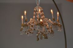 Dollhouse Chandelier 8-Arm Electric Phyllis Tucker