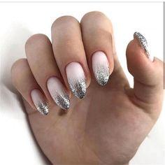 NagelDesign Elegant ( NagelDesign Elegant ( (no. ) - - NagelDesign Elegant ( NagelDesign Elegant ( (no. Ombre Nail Designs, Pretty Nail Designs, Trendy Nails, Cute Nails, Manicure Natural, Hair And Nails, My Nails, Nails Yellow, Nails Polish