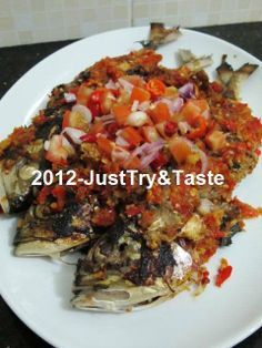 Just Try & Taste: Ikan Kembung Panggang Rica-Rica Siram Sambal Dabu-Dabu