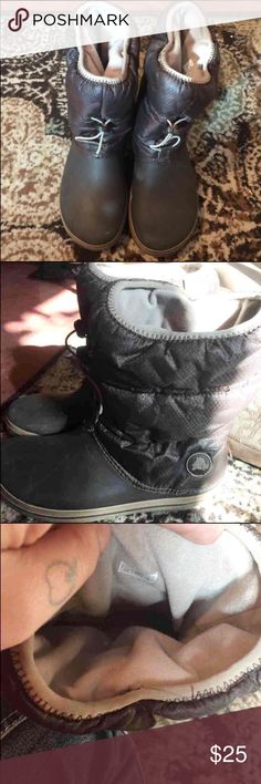 Crocs waterproof boots Great winter boots. Warm and will protect against the elements CROCS Shoes Winter & Rain Boots