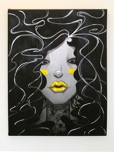 Lipstick and Tattoos by MarcosMachina.deviantart.com on @deviantART