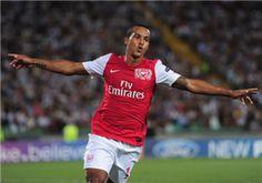 Theo Walcott of Arsenal FC