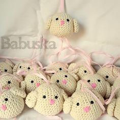 Pajaritos tejidos al crochet
