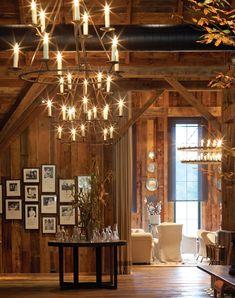 Blackberry Farm's restaurant is held in a restored barn.