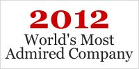 #FORTUNE ® World's Most Admired Companies® 2012