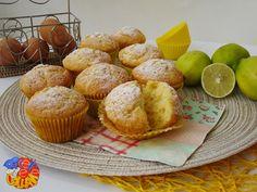 Muffin profumati al limone