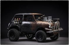 Before the Dirt - The Cars of Mad Max Fury Road on Behance by John Platt More…