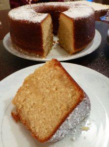 Butter Rum Cake
