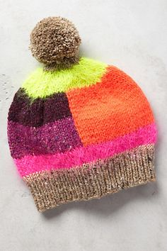 Arabella Pom Beanie #anthropologie