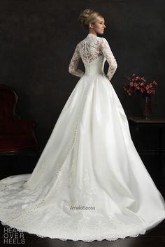 Amelia Sposa 2015 Wedding Dress Style: Elissa - Heart Over Heels #bridal #designer