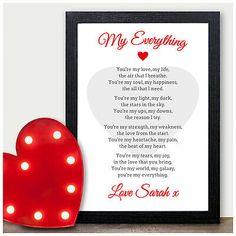 Valentine Poems For Husband, Anniversary Gift Ideas For Him Boyfriend, Valentines Day Poems, Dating Anniversary Gifts, 1st Wedding Anniversary Gift, Valentine Messages, Valentines Gifts For Boyfriend, Boyfriend Gifts, Paper Anniversary