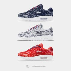 The Golden Shape, sneaker concepts & news Air Max 1, Nike Air Max, Vans Noir, Sports Shoes, Shoe Game, Nike Free, Trainers, Shoes Sandals, Kicks
