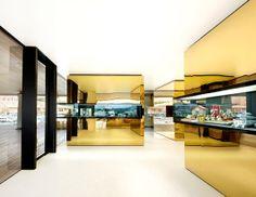 "#Relojeria Alemana Boutique. #Diseño de #OHLab. #Ganador categoría ""Show & Sell"" en #TheGreatIndoors #Award 2013"